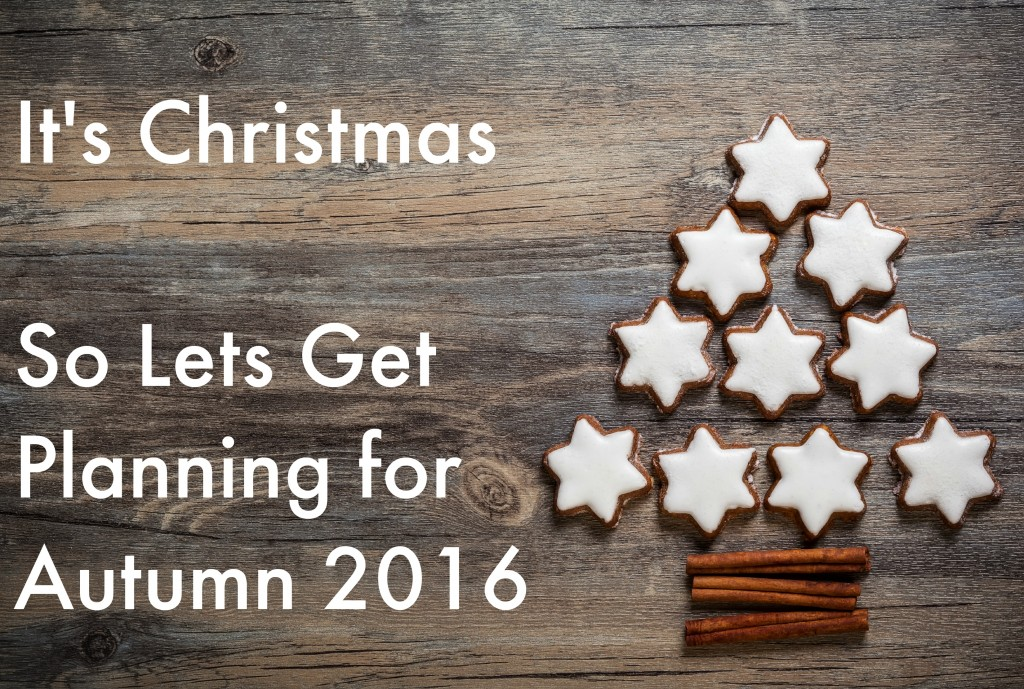 planning for 2016