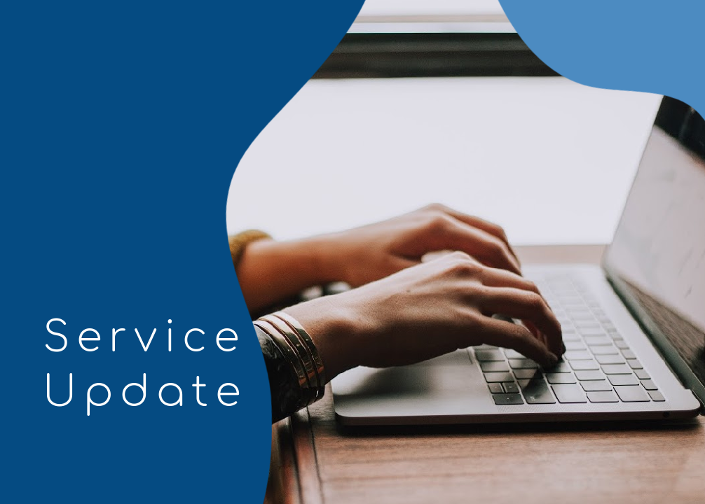 Service Update