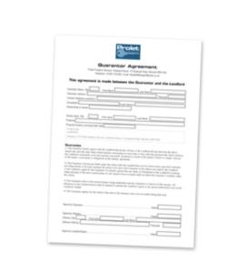 Student Guarantor Form